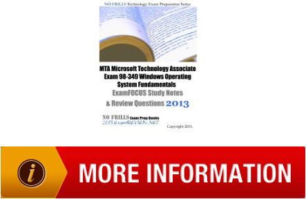 guide mta microsoft technology associate exam 98349 windows rh tunneledreelecting wordpress com microsoft mta 98-365 study guide microsoft mta networking fundamentals study guide